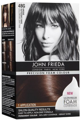 Amazon Com John Frieda Precision Foam Hair Colour Dark Chocolate