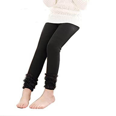 60cbcb067e4 SUNBIBE 4-12 Years old Children Winter Soft Girl Tights Infant Warmers Lace  Pantyhose Stockings