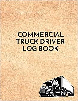 Commercial Truck Driver Log Book Repair Log Book Dartan Creations