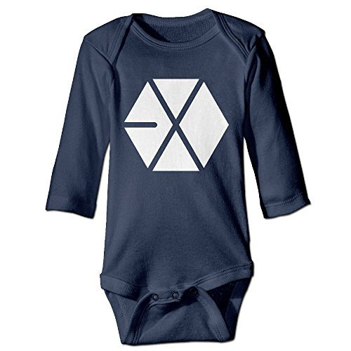 HYRONE Kpop EXO Logo Baby Bodysuit Long  - Bluetooth Pendant Headset Shopping Results