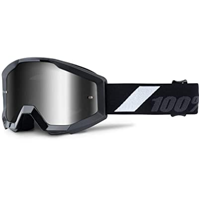 100% unisex-adult (50300-196-02) Goliath Strata Junior MX Motocross Goggles Youth (Black, One Size Fits Most): Automotive