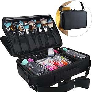 Travelmall cosm tico organizador profesional maquillaje case travel maquillaje herramientas - Organizador profesional ...
