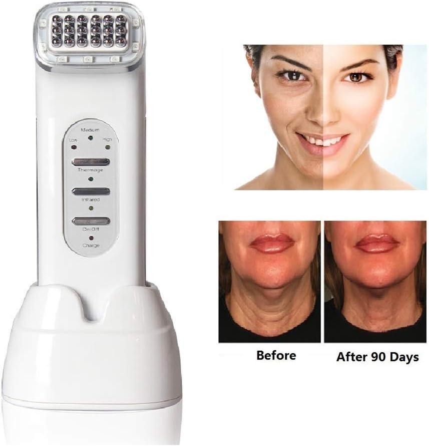 WFZGZ Radiofrecuencia Facial Matriz de Punto del RF Cara Que aprieta la máquina de la Belleza Las Arrugas de la Piel Facial