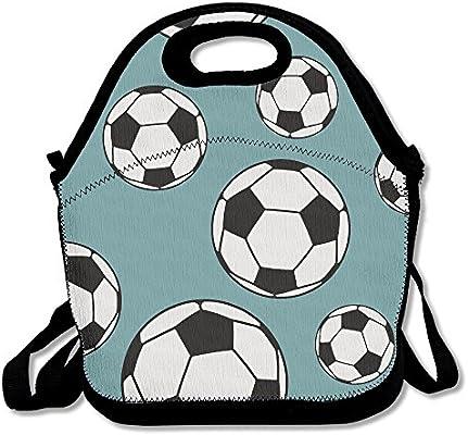 Balón de fútbol deporte almuerzo Tote Bag bolsas Awesome almuerzo ...