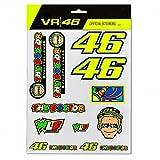 #4: Valentino Rossi VR46 Moto GP Large Sticker Set Official 2018