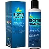 #3: Biotin Shampoo for Hair Growth B-Complex Formula for Hair Loss Removes DHT for Thicker Fuller Hair Anti Dandruff Formula with Zinc Tea Tree Oil Extract Jojoba Oil Argan Oil For Women and Men 8 oz