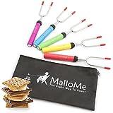 best marshmallow roasting sticks - MalloMe Premium Marshmallow Roasting Sticks