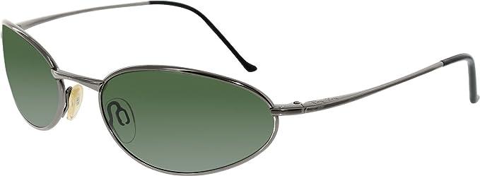 343738c2baccf Ray-Ban Men s RB8012-W3119-58 Grey Oval Sunglasses  Ray-Ban  Amazon ...
