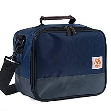 BetterCourse Premium Lunch Bag (Midnight Blue - Bag Only)