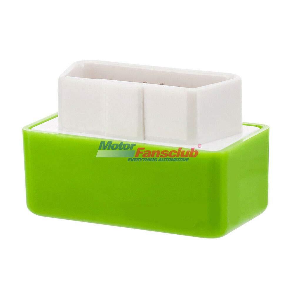 MotorFansClub Green Eco OBD2 /Économique /Économiseur de carburant Puce de bo/îte de r/églage pour l/économie de gaz de voiture