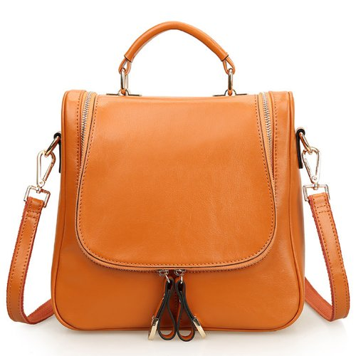 Womens Leather Backpack Handbag