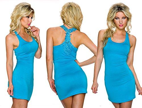 IL BAZAR - Camiseta sin mangas - para mujer azul claro