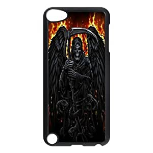 Santa Muerte - Grim Reaper Protective Case 147 FOR Ipod Touch 5 At ERZHOU Tech Store