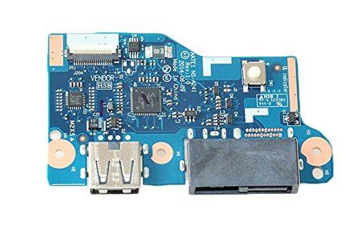 DC Jack Power Switch Button USB Board For Lenovo ThinkPad E555 E550 NS-A241