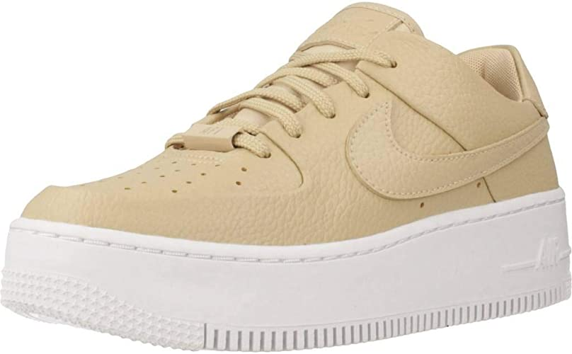 Nike Damen Air Force 1 Sage Low Sneaker Beige