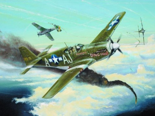 Trumpeter 1/32 P51B Mustang Fighter Model (P-51b Mustang Fighter)