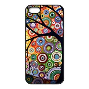 Customized Dual-Protective Case for Iphone 5,5S, Abstract Painting Cover Case-R640545 by lolosakes