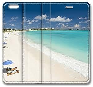 Caribbean Beach iPhone 6 Plus Wallet Case, Apple iPhone 6 Plus (5.5