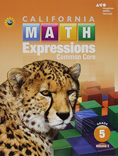 Houghton Mifflin Harcourt Math Expressions: Student Activity Book (softcover), Volume 2 Grade 5 2015