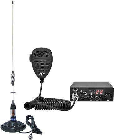 Radio CB PNI Escort HP 8000L ASQ + Antena CB PNI ML70