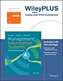 img - for Management Information Systems, 4e WileyPLUS Learning Space Registration Card + Loose-leaf Print Companion book / textbook / text book