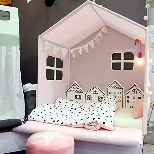 Baby Crib Bumper For Newborns Nordic INS House Bed Cushion Baby Protector For Infant Cot Around Pillows Room Decor For Girl Boy