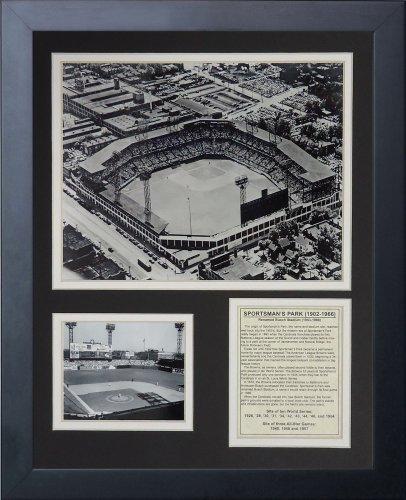 Legends Never Die Sportsman's Park Framed Photo Collage, 11x14-Inch