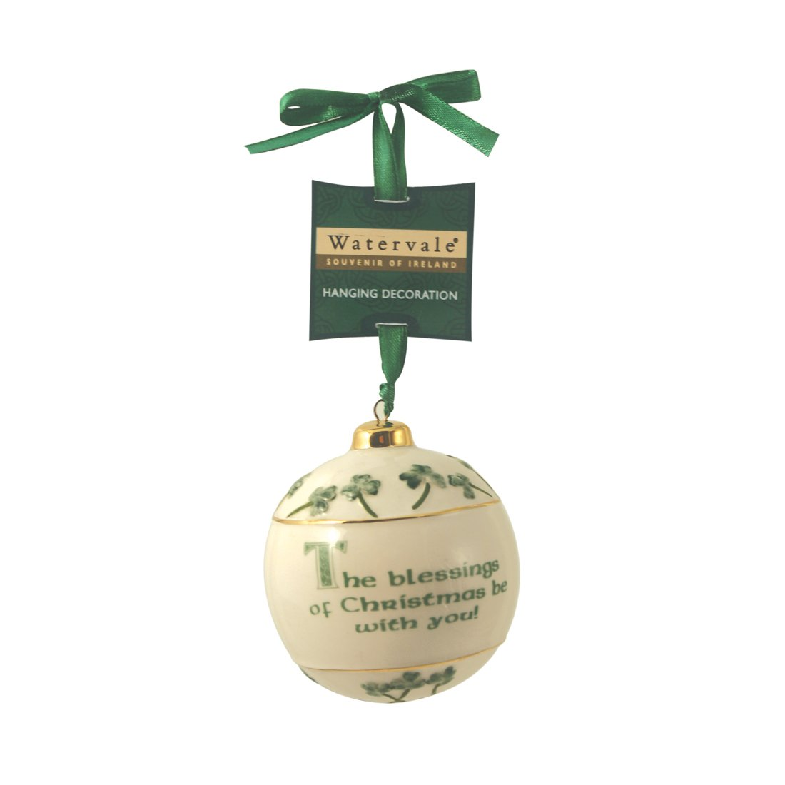 Amazon.com: Carrolls Irish Gifts Watervale Hanging Bauble Decoration ...