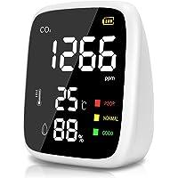 Medidor CO2 Portátil,400 a 5000 ppm Mini Detector CO2 Medidor de CO2,Probador de Humedad Relativa de Temperatura de Alta…