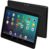 "KUBI 10"" Android 7.0 Tablet, Octa-Core Processor, 2GHz, 64GB Storage, 4GB RAM, Dual Camera, 1280 x 800 IPS Ultra Slim 3D Game Supported (Black)"