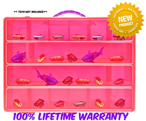 Life Made Better Toy Storage Organizer. Fits Up to 40 Bug Toys. Compatible With Hex Bug TM Toy Figures - Hex Bug Carrying Case
