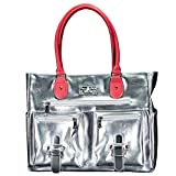 6 Pack Fitness Expert Renee Tote Meal Management Chrome Pink