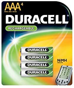 duracell rechargeable aaa nimh batteries. Black Bedroom Furniture Sets. Home Design Ideas