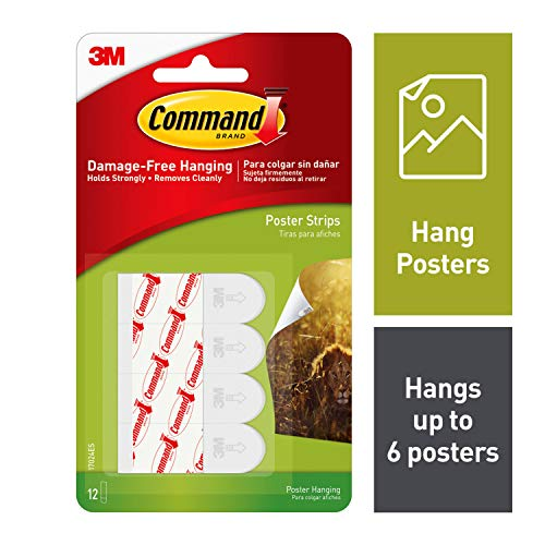 Wholesale CASE of 25 - 3M Removable Command Adhesive Poster