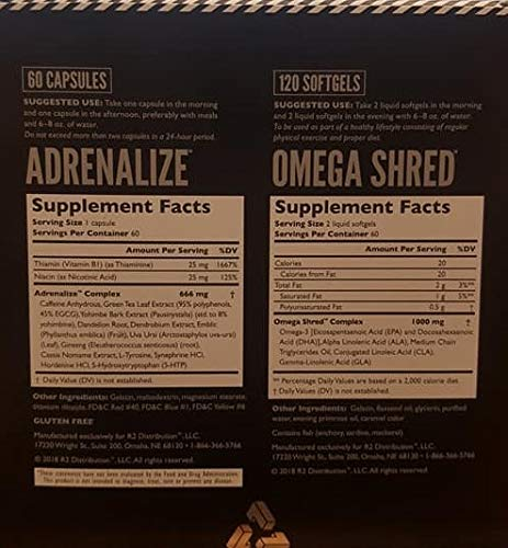 Shred Stack Fat Burning Kit for Commited Athletes