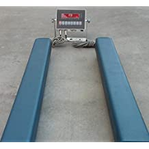 """5,000 LBS x 1 LB Optima Scale OP-919-24 Heavy Duty Weigh Beam Floor Scale System, 24"""" x 4"""" NEW !!"""