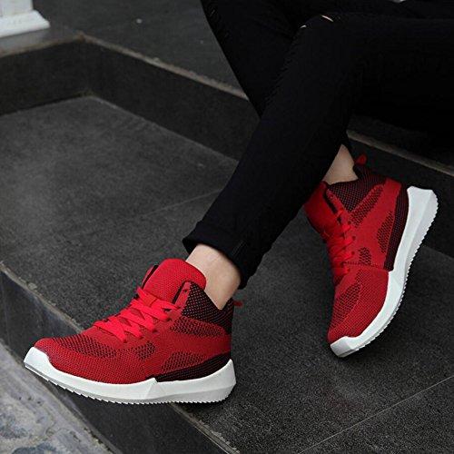 casual per a Colore larghe ginnastica a corsa alte coste maglia alla donna C 37 moda Scarpe da corsa scarpe da traspiranti estive scarpe da UN scarpe Dimensione 0xC7pqwBd