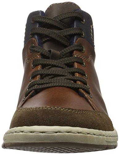 Marron 27 Hautes Sneakers Ozean Marron Rieker 38912 Cigar Homme BYn88q