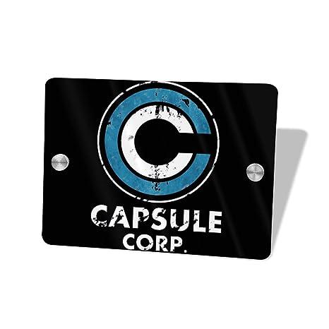 Amazon.com: Motisure Capsule Corp - Cartel para puerta (5.5 ...