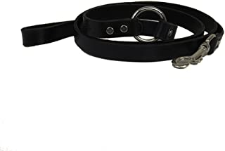 "product image for Leather Dog Leash with ""O"" Ring"