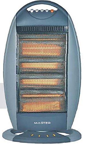 Master sa1600Radiateur halogène oscillant Puissance 1600W couleur Silver