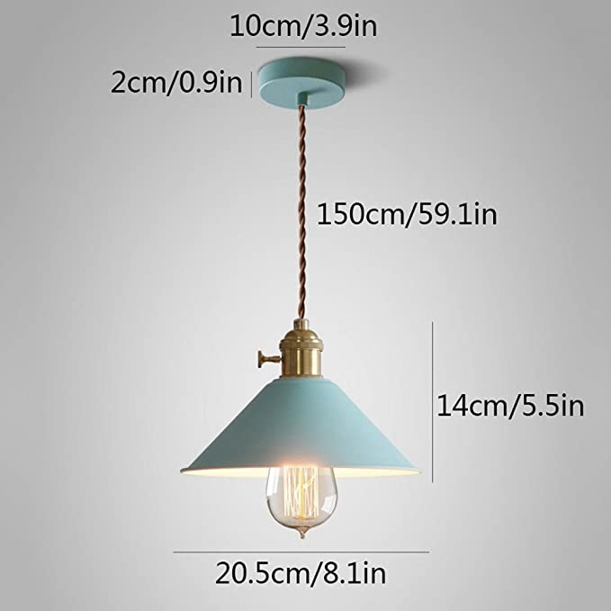 Amazon.com: LED Wrought Iron Chandelier, Nordic Multicolor ...