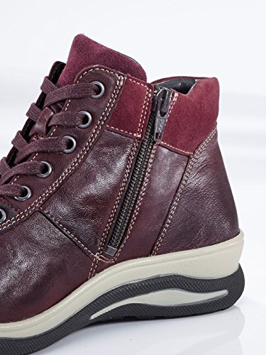 Avena Damen Hallux-Sneaker Sporty Rot