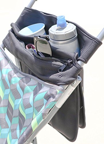 Mom's Favorite Stroller Organizer with cup holders | Stroller handlebar console | Baby Stroller Accessories | Stroller cup holder by Mom's Favorite