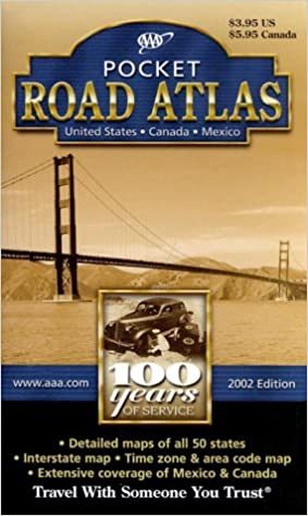 AAA Road Atlas 2002: United States, Canada, Mexico: AAA: 9781562515553: Amazon.com: Books