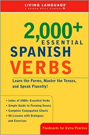 Amazon.com: 2000+ Essential Spanish Verbs: Learn the Forms, Master ...
