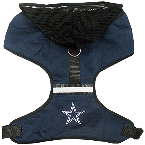 Pets First Dallas Cowboys Harness, Small by Pets First