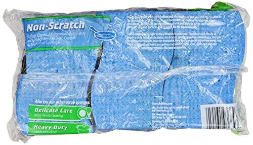 Scotch-Brite Scrub Sponge, Non-scratch, 9-Count (Pack of 2)>