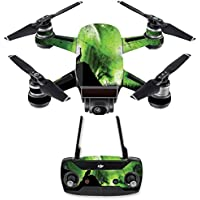 Skin for DJI Spark Mini Drone Combo - Howling Wolf| MightySkins Protective, Durable, and Unique Vinyl Decal wrap cover | Easy To Apply, Remove, and Change Styles | Made in the USA