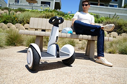 "SEGWAY miniPLUS| Smart Self-Balancing Personal Transporter, 11-Inch Pneumatic Tires, up to 22-mile range and12.5 mph, ""follow me"" feature, Fully Integrated Mobile App., Remote Control"